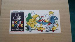 Buvard Vêtement Mickey Mouse De Walt Disney - Papel Secante