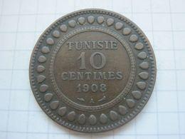 Tunisia , 10 Centimes 1908 - Tunisia