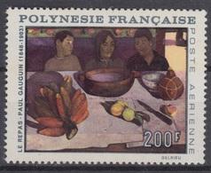 POLYNESIE FRANCAISE : POSTE AERIENNE GAUGUIN N° 25 NEUF * GOMME AVEC CHARNIERE - COTE 53 € - Neufs