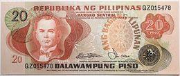 Philippines - 20 Piso - 1978 - PICK 162b - NEUF - Filipinas