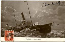 """L'Augustin Normand - Voir Indication """"La Joconde"""" ?  - Voir Scans - Passagiersschepen"""