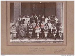 Au Plus Rapide Superbe Photo Lycée Champollion Grenoble 1934 1935 Isère - Non Classés