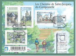 Chemins De Compostelle 2013 - Oblitérés