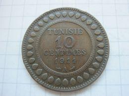 Tunisia , 10 Centimes 1911 - Tunisia