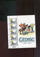Belgie 2016 F4580 Cedric BD Comics Strips Velletje Van 5 MNH RR Plaatnummer Z - Panes