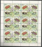SOMALIA - MNH - Animals - Insects - Beetles - 1995 - Altri