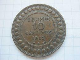 Tunisia , 10 Centimes 1912 - Tunisia