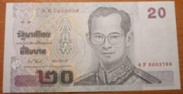 THAILAND 20 BAHT 2003   P-109  UNC - Tailandia