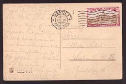 Regno, 60 C.mi Anno Santo Del 1925 Isolato Su Cartolina Per La Germania -CU84 - 1900-44 Victor Emmanuel III