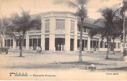 AFRIQUE NOIRE - DAHOMEY (actuel MALI) COTONOU Factorie Française (CIE GLE AFRIQUE FRANCAISE Industrie Usine ) CPA Africa - Dahomey