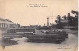 AFRIQUE NOIRE - DAHOMEY (actuel MALI) COTONOU Wharf Et Phare - CPA - Black Africa - Dahomey