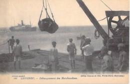 AFRIQUE NOIRE - DAHOMEY (actuel MALI) COTONOU Débarquement Des Marchandises - CPA - Black Africa - Dahomey