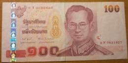 THAILAND 100 BAHT 2005   P-114 - Tailandia