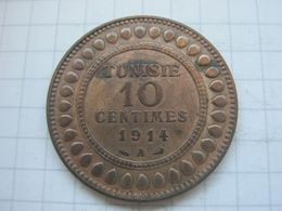 Tunisia , 10 Centimes 1914 - Tunisia
