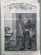 L'illustrazione Popolare 7 Aprile 1889 Ministri Giolitti La Cava Burgos Cosacco - Vor 1900