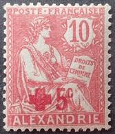 R1598/9 - 1915 - COLONIES FR. - ALEXANDRIE - CROIX ROUGE - N°34 NEUF** - Nuovi