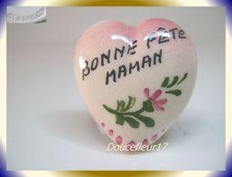 Clamecy ... Coeurs En Fête.. Bonne Fête Maman, Grand Modèle Tout Rouge ... Ref .AFF : 16-1994 - Oude