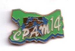 FF279 Pin's CPAM Département 14 Calvados Assurance Maladie Santé Achat Immédiat - Medical