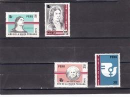 Peru Nº 611 Al 614 - Peru