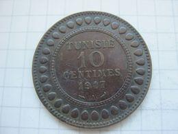 Tunisia , 10 Centimes 1917 - Tunisia