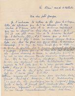 Lettre 4 Pages écrite De La Solane ( Osséja ) 12/9/1939 Signée Mimi Pinson La Lantinière Début Guerre 39/45 - 4 Scan - Documents Historiques