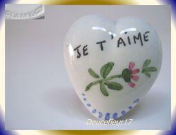 Clamecy ... Coeurs En Fête.. Je T'aime, Grand Modèle Tout Bleu ... Ref .AFF : 16-1994 - Oude