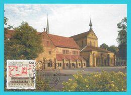 BRD 1998  Mi.Nr. 1966 , Weltkulturerbe Der UNESCO (V) - Hagenbach Maximum Card - Erstausgabe Berlin Zentrum 22.01.1998 - Maximum Cards