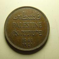 Palestine 2 Mils 1941 - Otros – Asia