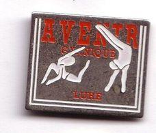 SP155 Pin's GYM Gymnastique Danse Fitness Avenir Gymnique Lure Haute Saône Pin'up Fille Achat Immédiat - Ginnastica