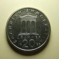 Greece 20 Drachmes 1988 - Griechenland