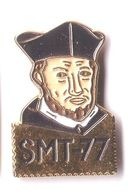 R161 Pin's SMT 77 Société Médecine Travail 77 Médecin Nom ?? Achat Immédiat - Medical