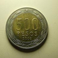 Chile 500 Pesos 2008 - Chili