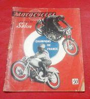 Motocycles N°28 Novembre 1949 Spécial Salon Liste Prix Photos Publicités Motos Alcyon Monet Goyon Rene Gillet Terrot.... - Moto