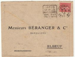 ESC Daguin Thann 1927 - Marcophilie (Lettres)