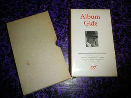 """ALBUM GIDE 1985 TIRAGE EXCEPTIONNEL """" QUINZAINE DE LA PLEIADE """" SUPERBE EX LIBRIS DE PAUL GIRAUD SIGNE VYTAUTAS O.VIRKAU - Biografia"""