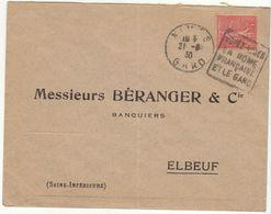 ESC Daguin Nîmes 1930 - Marcophilie (Lettres)