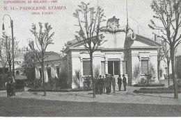 Milano - Esposizione Del 1906 - Padiglione Stampa - HP2323 - Milano (Milan)