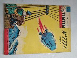 TINTIN N° 778  BARA L'ENFANT SOLDAT (4p) JEAN ROSTAND (4p) COVER TIBET - Tintin