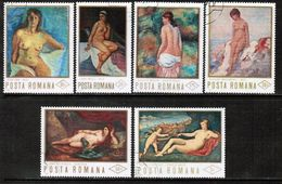 ROMANIA  Scott # 2255-60 VF USED (Stamp Scan # 682) - 1948-.... Republiken