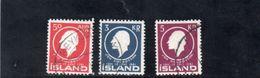 ISLANDE 1961 O - 1944-... Republique