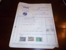 FF1 Document Commercial Facture Manufacture De Machine à Coudre Pax Herstal 1953 - Belgien