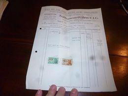 FF1 Document Commercial Facture Ets Perfect J.G. Appareils Ménagers Montignies-sur-Sambre 1952 - Belgien