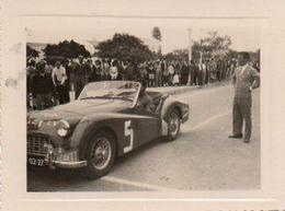 V648Pt  Photo Angola Moçamedes Course Automobile Rallye Ao Caraculo Tacot à Identifier En 1957 - Angola