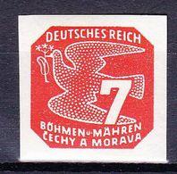 Boheme Et Moravie 1943 Mi 119 (Yv TPJ 13), (MNH)** - Bohemia & Moravia