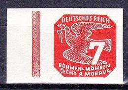 Boheme Et Moravie 1943 Mi 119 (Yv TPJ 13), (MNH)** Bdf - Bohemia & Moravia