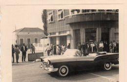 V648Pt  Photo Angola Luanda Automobile Décapotable Tacot à Identifier En 1957 - Angola