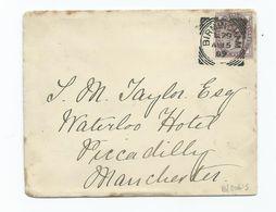 Great Britain Victoria  1d Lilac Sg172 Birmingham L79 Squared Circle - 1840-1901 (Victoria)