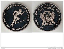 St Thomas Prince 1000 Dobras 1993  Km 59 Proof - São Tomé Und Príncipe