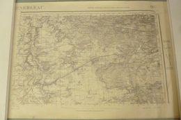Carte I.G.N. : MILLY-la-Forêt / NEMOURS - 1 / 50 000ème - 1902/40. - Cartes Topographiques