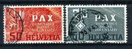 Mi Nr 452/453 - PAX - Gest./obl. - Cote 50,00 € - Switzerland